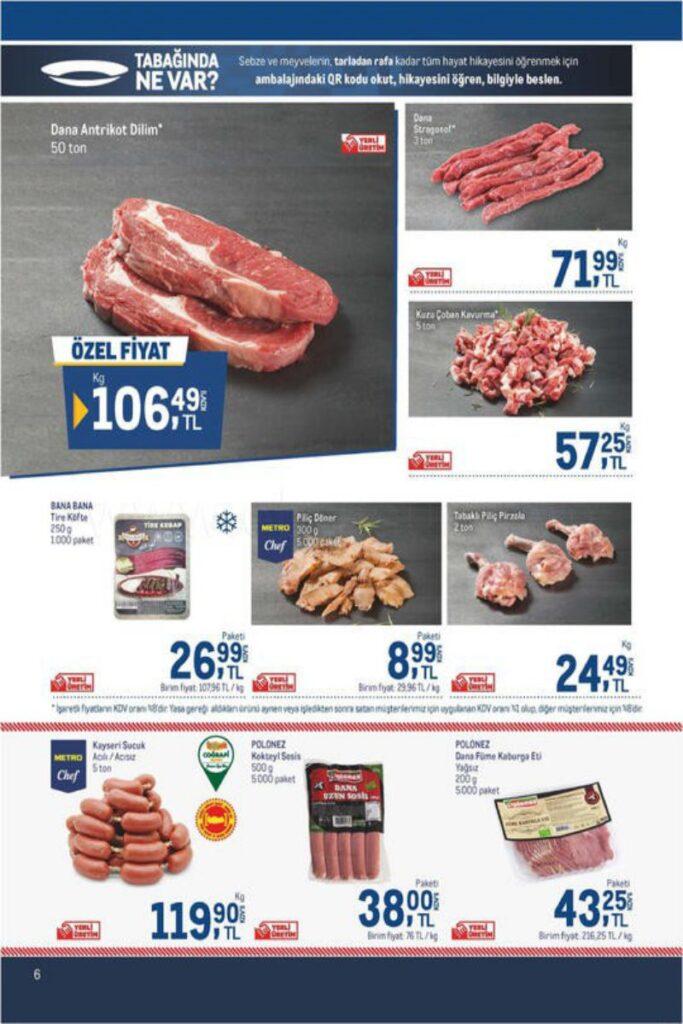 Metro Market Gıda Kampanya Broşürü!